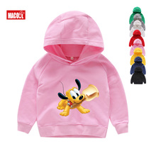New Cartoon Kids Hoodies 2019 Spring Autumn Minnie Mickey Sweatshirt Tops Long Sleeve Boys Girls Child Baby Clothes