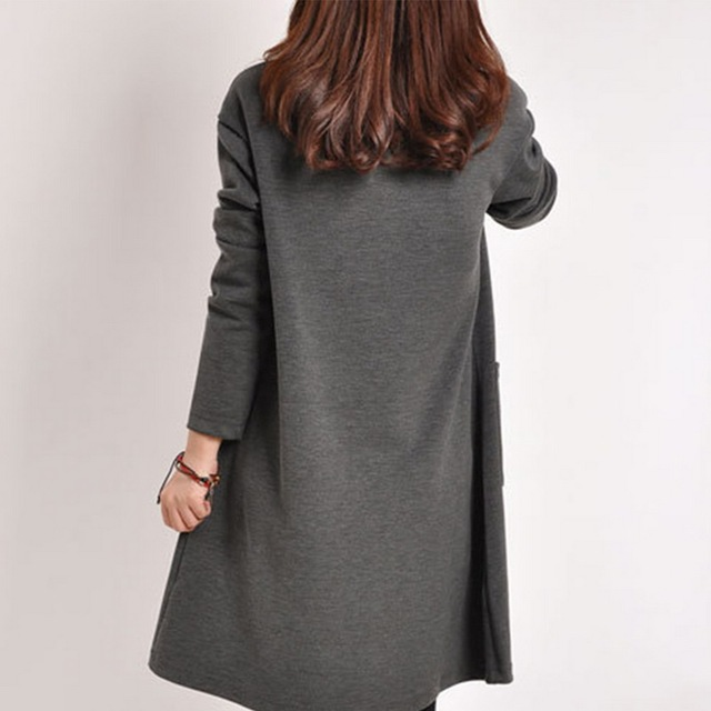 LOOZYKIT Autumn Maternity Dresses in Casual Style 6
