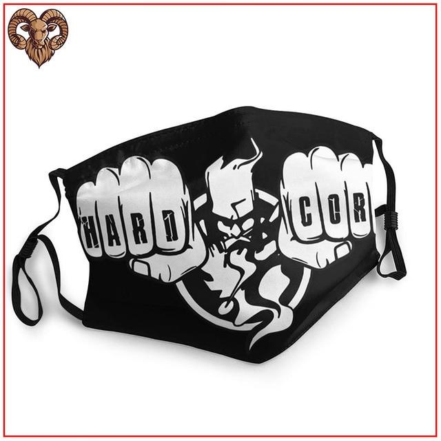 2020 Women Men facemasks masks Thunderdome Hardcore (4)-vectorized breathable reusable washable adjustable cotton face shield