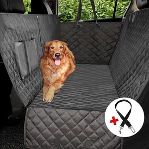 Роскошный стеганый чехол для на автомобильное сиденье для перевозки собак боковой откидной клапан автомобильный Дорожный Чехол для перено...