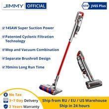 JIMMY – aspirateur à main sans fil JV65 Plus, avec réservoir d'eau de 250ML, aspiration puissante 145AW, collecteur de poussière, durée de fonctionnement de 70 Minutes