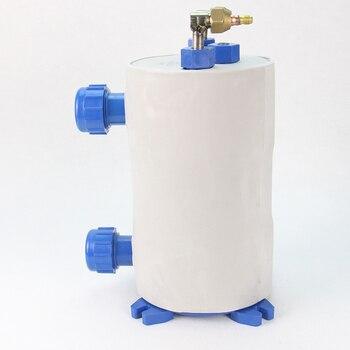 Titanium Tube Thermal Insulation 1P Pure Heat exhcange Fishpond Evaporator Barrel Water  Foot Refrig