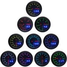 Dual-Display Gauge Pods Air-fuel-ratio/egt/Tachometer Boost/water/oil 2--52mm LED 7-Colors