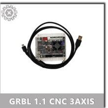 Placa de Control de máquina de grabado, puerto USB V3.4, 3 ejes, GRBL1.1, puede trabajar sin conexión para máquina de grabado láser 3018 Pro/3018 Pro BM.