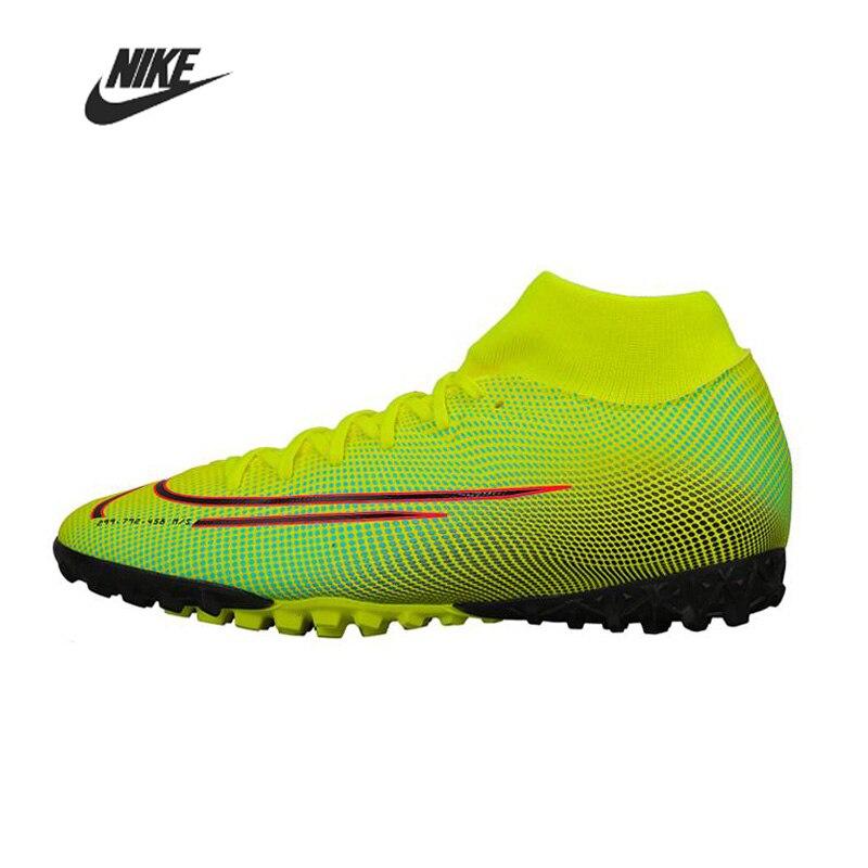 Nike Superfly 7 Acadeny MDS TF Men Football Boots Original High Ankle Soccer Shoe Women Man BQ5435-703 Football Shoes Training