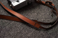 Mr.stone Handmade Genuine Leather Camera Strap Camera Shoulder Sling Belt Fine section(adjustable shoulder strap)