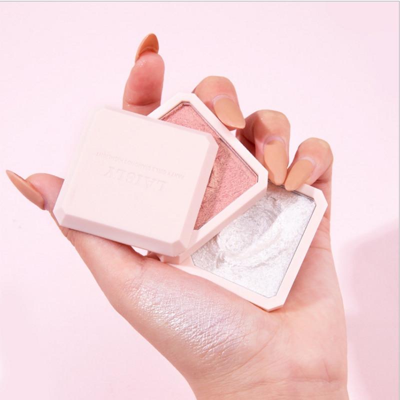Highlighter Facial Palette Makeup Glow Kit Face Contour Shimmer Powder Body Base Illuminator Highlight High Gloss Makeup