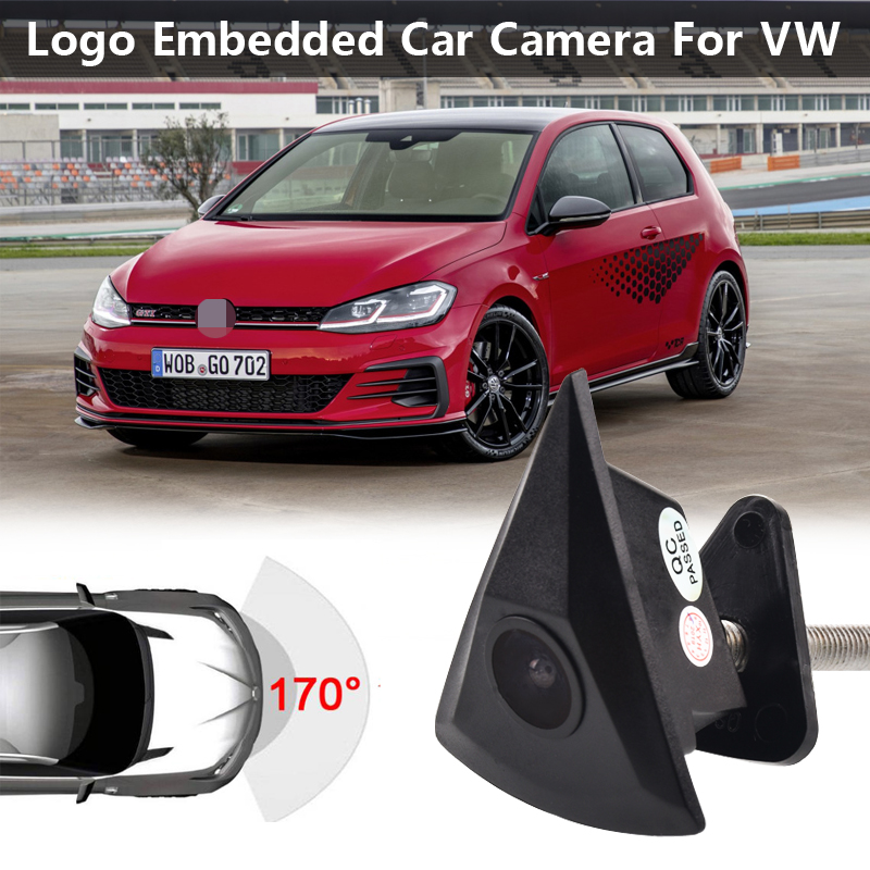 HD Car CCD Front View Camera For VW Passat B4 B5 B6 B7Tiguan Golf 4 5 6 Touran Polo Beetle Multivan Caravelle
