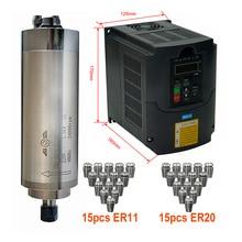 Spindle-Motor Cnc Router Er20-Collet Water-Cooling 800w ER11 Inverter VFD DIY