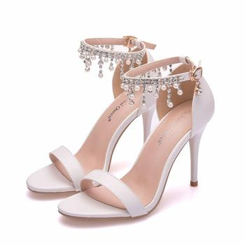 Glam Crystal High Heel/ Women Stylish Sandals 6