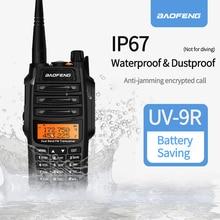 2020 UV 9R Baofeng Walkie talkie IP67 Impermeabile e Antipolvere ham radio Vhf Uhf Dual Band Per UTV ATV Caccia a due way radio