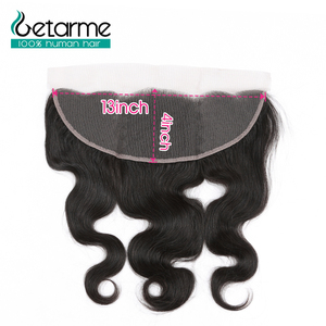 Body Wave 13*4 Frontal Swiss Lace Closure Free Part 8
