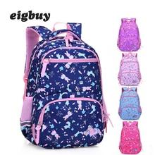Cute Floral Printing Backpack Children School Bags For Boys Girls Princess Backpack Waterproof School Bags Child School Bags цена 2017