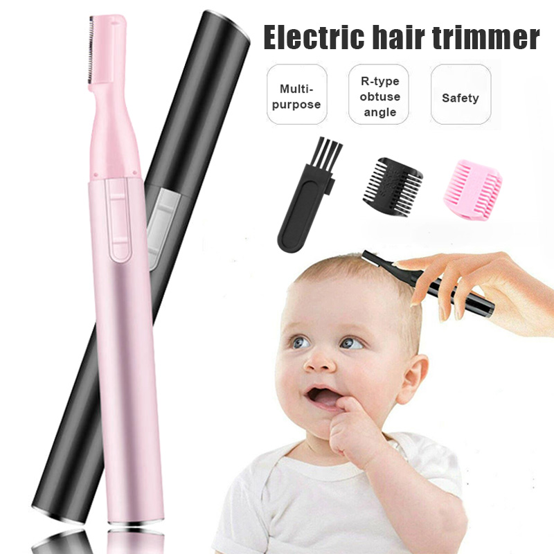 Mute Baby Electric Hair Trimmer Automatic Durable Safe Shaving Hair Tool For Infant New Design