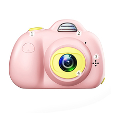 Cute Children Digital Camera Full Hd 1080P Mini Dual Lens Ki