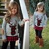 Toddler Girl Clothes Autumn Kids Sport Suits Children Clothing Sets T-shirt+Pants 2Pcs Cotton Girls Clothes Tracksuits For Girls 4