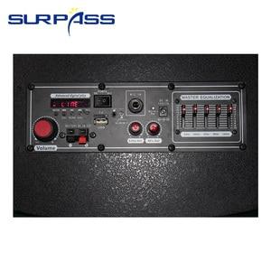Image 3 - Karaoke Portable Bluetooth Trolley Speaker Rechargable Audio Sound Box Amplifier Outdoor Music Column Center 10inch
