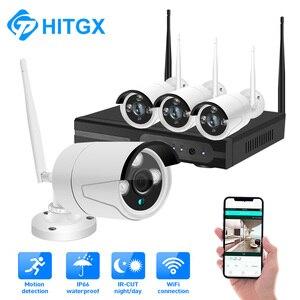 Image 5 - 1080p nvr cctv kit wifi sistema de câmera ip câmera sistema de segurança ao ar livre conjunto vigilância por vídeo