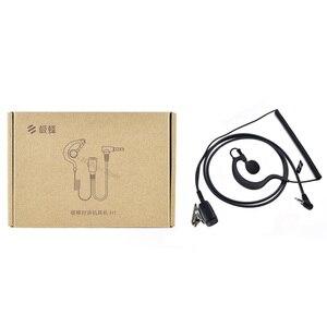 Image 2 - 2020 Youpin Beebest ווקי טוקי אוזניות H1 3MM יחיד אפרכסת אוזן וו אוזניות עם כבל ספירלת Mijia ווקי טוקי