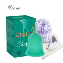 Anytime Feminine Hygiene Lady Cup Menstrual Cup Wholesale Reusable Medical Grade Silicone For Women Menstruation Collector