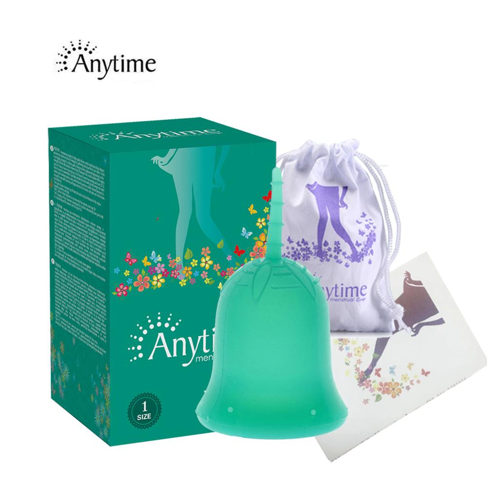 Anytime Feminine Hygiene Lady Cup Menstrual Cup Wholesale Re…