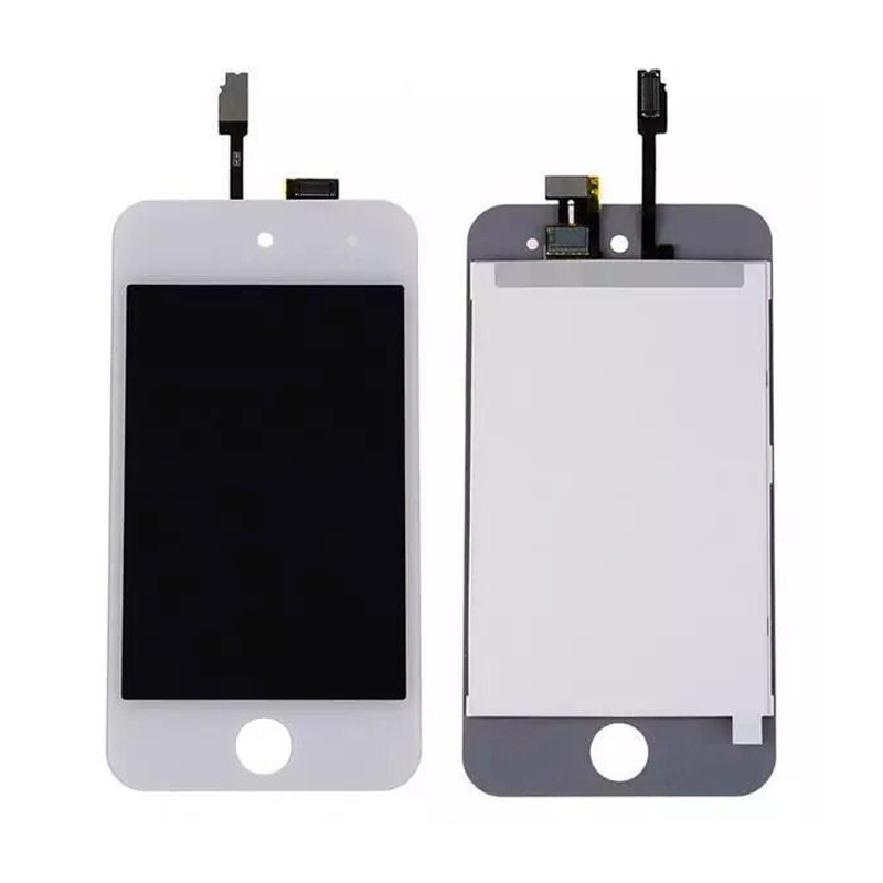 100% Warranty LCD Display Screen With Touch Screen Digitizer Sensor Assembly For ipod Touch 4 4th LCD By Free Shipping