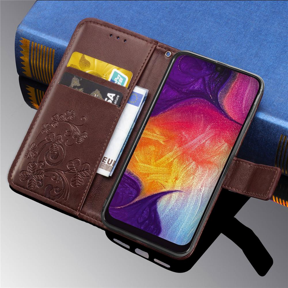 Phone Case For <font><b>Samsung</b></font> Galaxy <font><b>A50</b></font> Case Leather <font><b>Flip</b></font> Wallet <font><b>Cover</b></font> For <font><b>Samsung</b></font> <font><b>A50</b></font> A 50 Phone Bag Case Galaxy A50S A30S Coque image