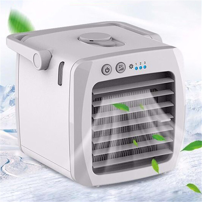 Portable Mini Air Conditioner USB Conditioning Humidifier Purifier USB Desktop Air Cooler Fan Home Outdoor Dropship