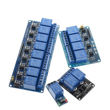 12v 1 2 4 8 channel relay module with optocoupler. Relay Output way for arduino
