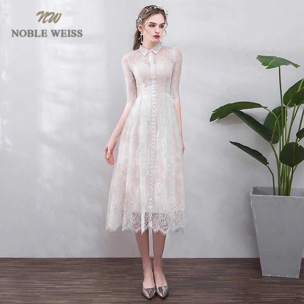 Short Wedding Dress Knee Length A Line Beach Wedding Dress Lace Bridal Dresses Wedding Dresses Aliexpress
