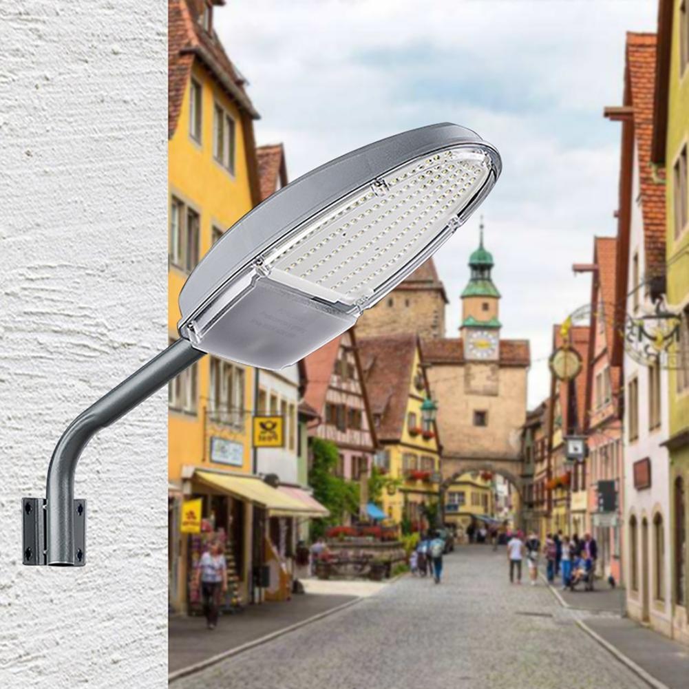 24W 144LED Solar Street Light Outdoor Waterproof Wall Lamp For School Prak Garden Yard Hospital|Street Lights| |  - title=