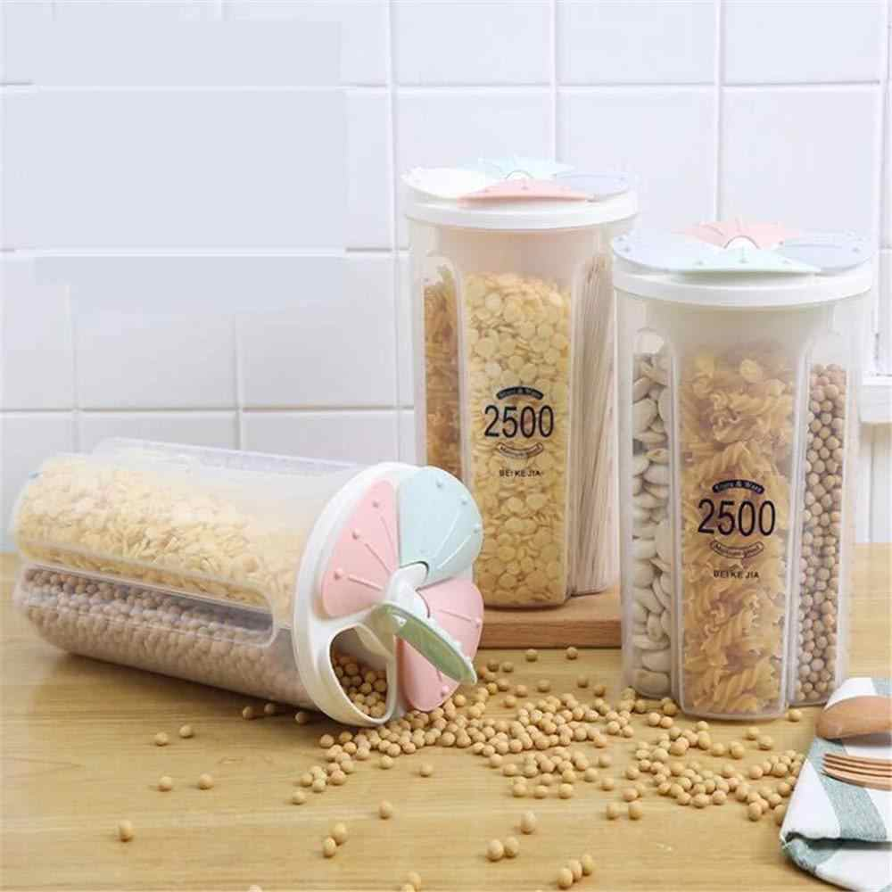 Petal Household Food Container Grains Tank Cereal Storage Box Sealed Cans