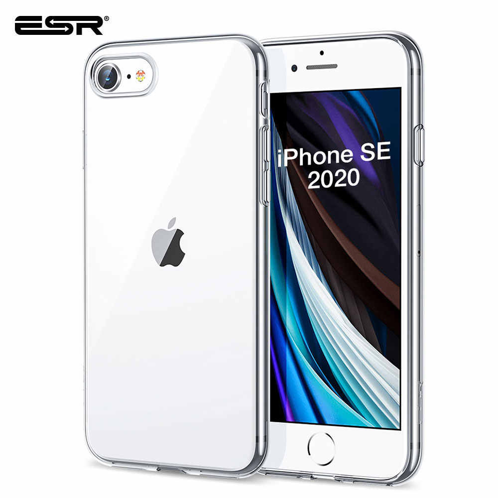 Carcasa ESR para iPhone SE 2020, carcasa transparente de TPU para iPhone SE 2nd Gen 11 Pro X XR XS Max 8 7 Plus 6s, funda transparente nueva