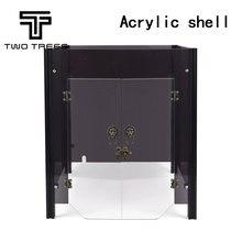 DUE ALBERI 3D Stampante separatamente Zaffiro pro stampante caso acrilico fai da te CoreXY Zaffiro PRO Individuale Acrilico Borsette Link