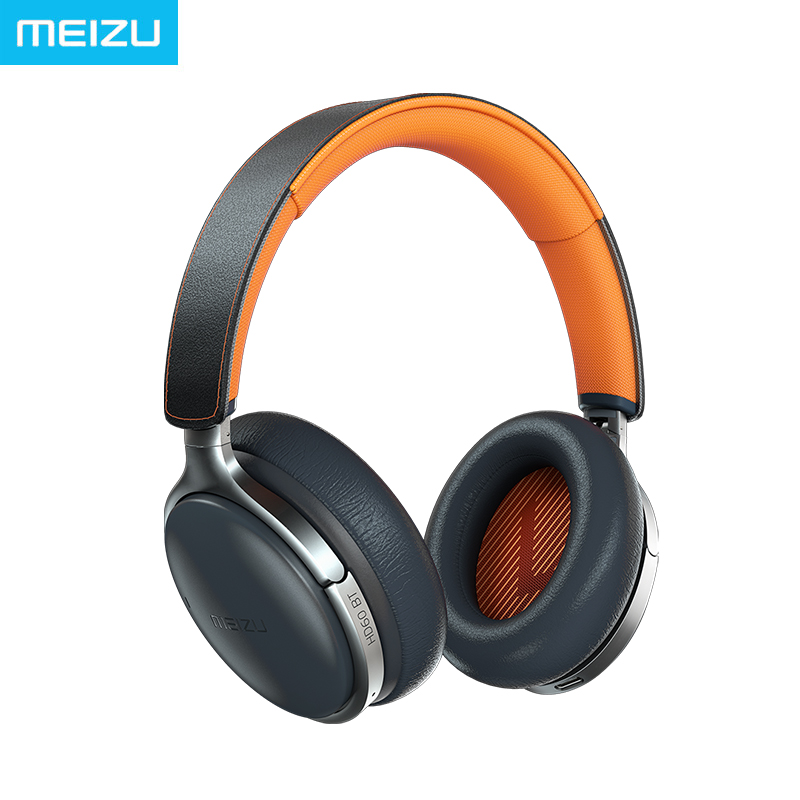 Meizu HD60 Headphone Bluetooth 5.0 Headband Hi Res certified support aptX and Smart Voice Assistant Remote Touch Control