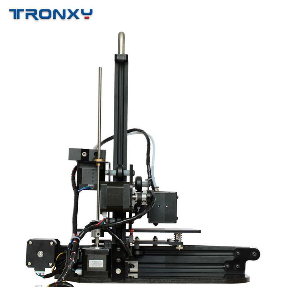 Tronxy X1, polea de impresora 3D, guía lineal, soporte de tarjeta SD, pantalla LCD de impresión fuera de línea, alta precisión, 0,1-0,4mm, nuevo