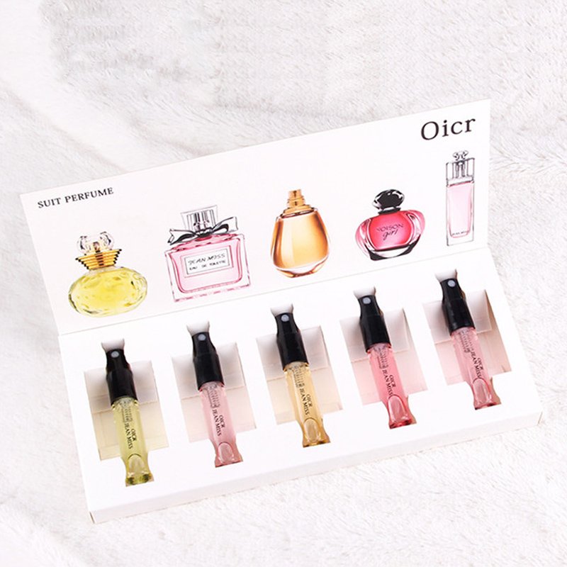 1Set Perfume For Women Parfum With Lady Box Package Fragrance Oil Fruit Essential Beautiful Water Atomizer Flower