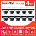 Hikvision OEM PTZ IP камера POE 4MP такая же  как DS-2DE2A404IW-DE3 купольная камера видеонаблюдения exterieur sans fil Camara Vigilancia