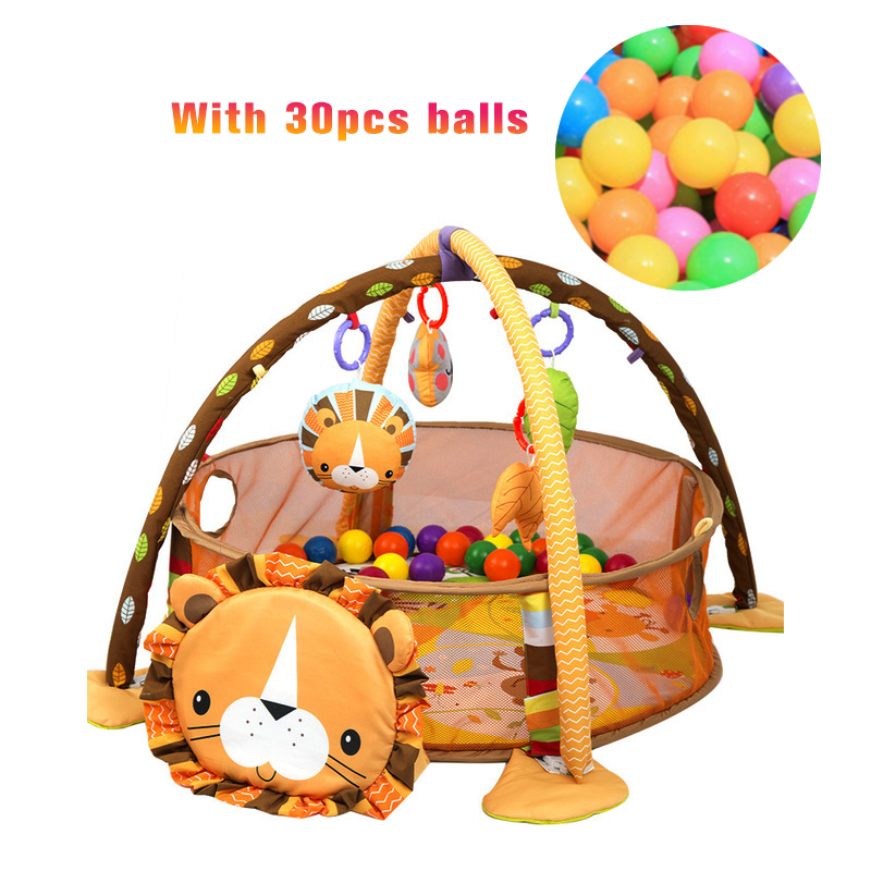 Baby Playmat Gym Mat Crawling On the Net of The Nursery Turtle Toy Marine ball pool With marine ball