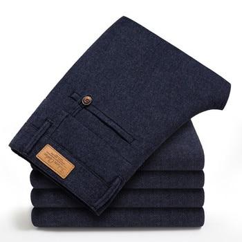 Kομψό αντρικό παντελόνι slim line Αντρικά Παντελόνια Ρούχα MSOW