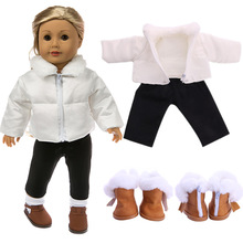 Down Jacket New Born Baby Doll Clothes for 18