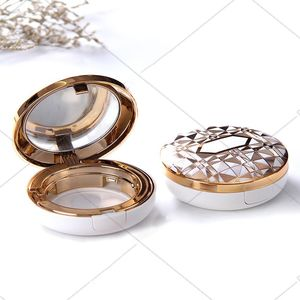 Empty Air Cushion Loose Powder Puff Box BB Cream Container With Mirror Cosmetic Accessory Makeup Tool