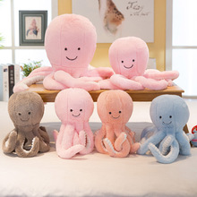 25cm creative cute octopus plush toy whale hair doll small pendant marine animal child baby gift 118