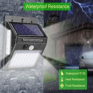 Image 4 - 모션 센서와 함께 LED 야간 조명 야간 조명 태양 전지 전원 램프 정원 장식에 대 한 방수 벽 빛
