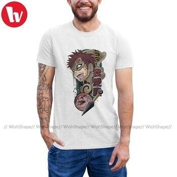 Gaara T Shirt Gaara T-Shirt 100 Percent Cotton Graphic Tee Shirt Streetwear Oversized Cute Men Tshirt