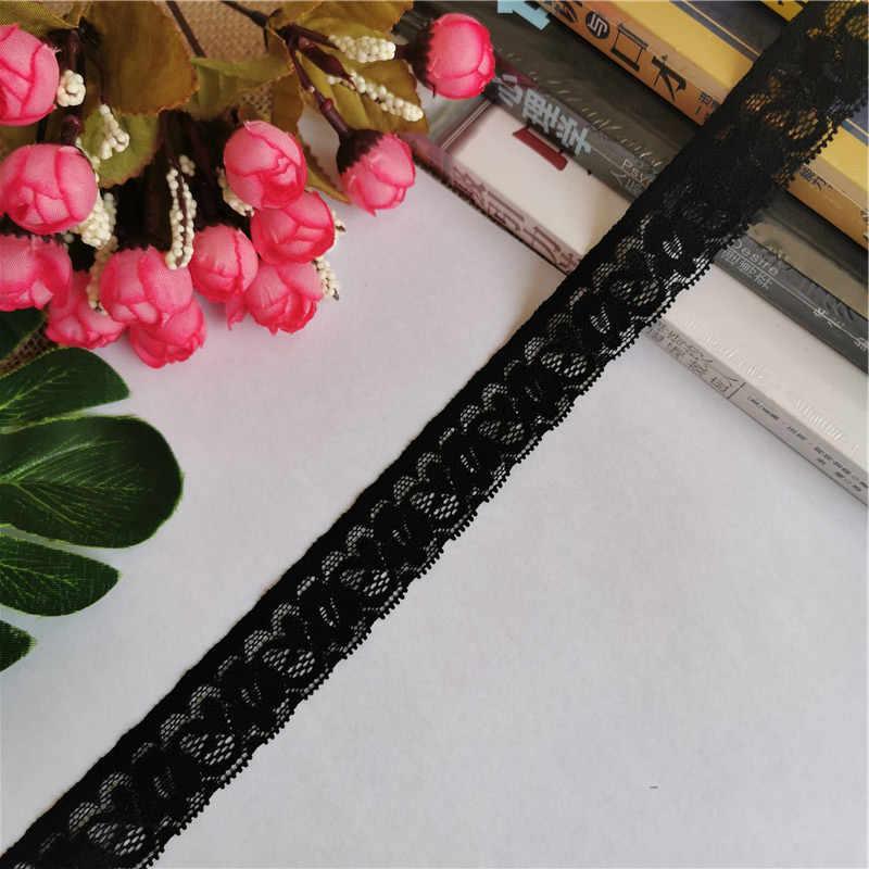2.7-3.5cm S1442 stretch koronkowy haft czarny akcesoria koronkowe do szycia bielizna damska spodnie kamizelka tkanina odzież accesso