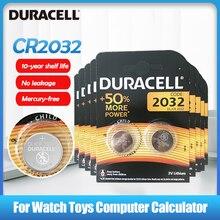 20 pièces 100% Original DURACELL CR2032 DL2032 DL/CR 2032 batterie au Lithium pour jouet montre télécommande calculatrice bouton cellule coin