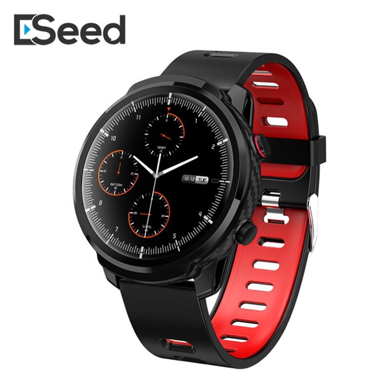 Eseed l5 plus s10 l3 relógio inteligente homem ip68 à prova dip68 água tela sensível ao toque completo 60 dias de longa espera smartwatch freqüência cardíaca pk honra relógio