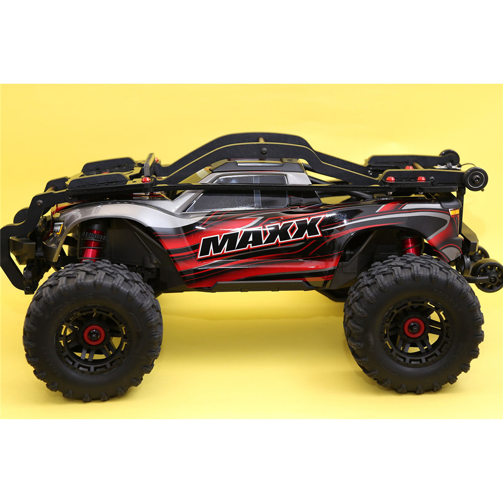 <font><b>RC</b></font> <font><b>Car</b></font> Roll Cage Metal <font><b>Body</b></font> <font><b>Shell</b></font> Based for 1:10 Traxxas MAXX Protection Frame <font><b>RC</b></font> Crawler Upgrade Parts Accessories image