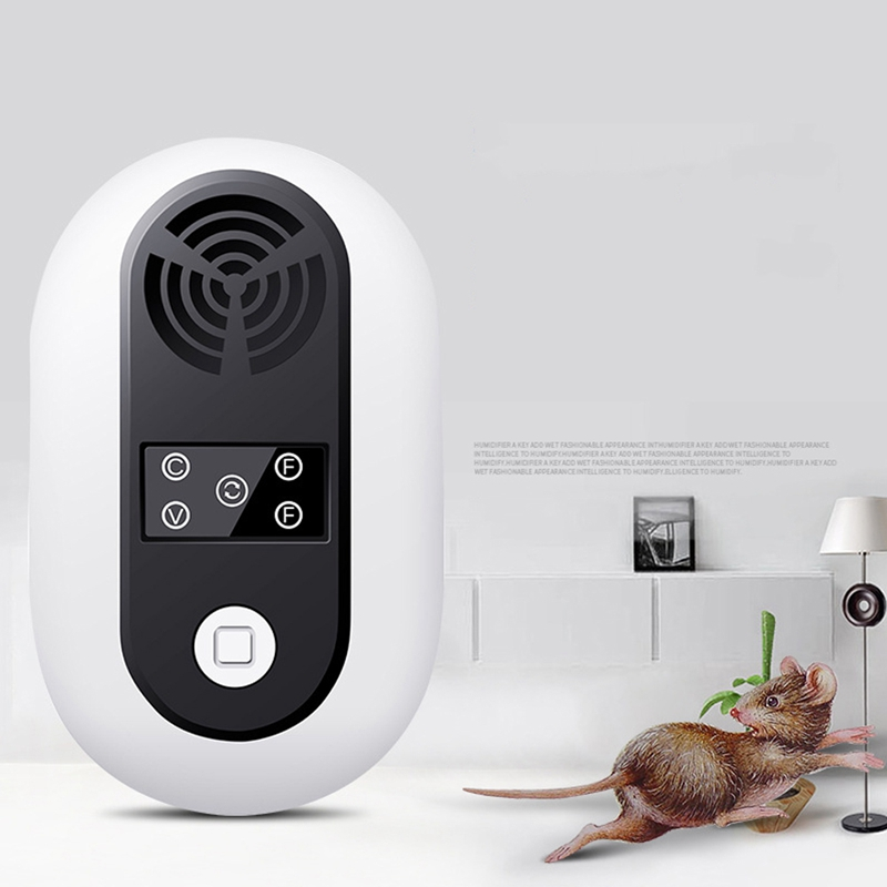 Ultrasonic Smart Home Pest Mice Repeller Repellents Anti Rodent Repellent Mole Mouse Cockroach Mosquito Killer
